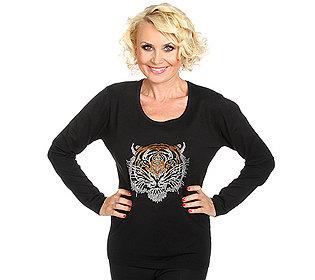 Pullover Tiger