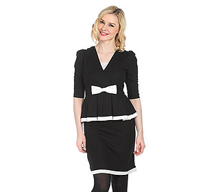 Kleid 2-in-1-Optik