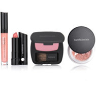 bareMinerals® Make-up-Set für Lippen & Wangen 4tlg.