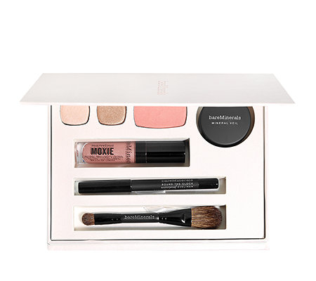 bareMinerals® By Popular Demand, Mineral Veil, Rouge, Lidschatten, Eyeliner Lipgloss & Pinsel