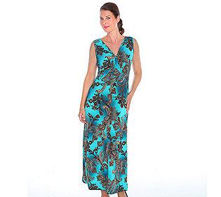 Kleid Paisley-Druck