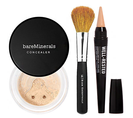 bareMinerals Well Rested Collection mit Pinsel, Set 3tlg.