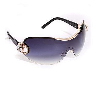 Sonnenbrille Strasskrone