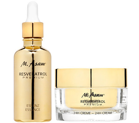 M.ASAM RESVERATROL Premium 24h Creme 50ml & Essenz 50ml