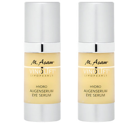 M.ASAM VINOLIFT Augenserum Duo 2x 30ml