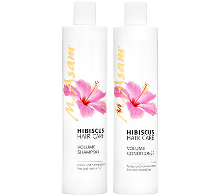 M.ASAM Hibiskus Volumen Shampoo & Volumen Conditioner je 400ml