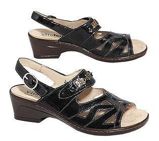 Sandalette Echtleder