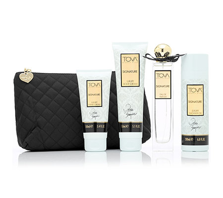 TOVA Signature Luxury Collection inkl. EdP 100ml 4-tlg. mit Tasche
