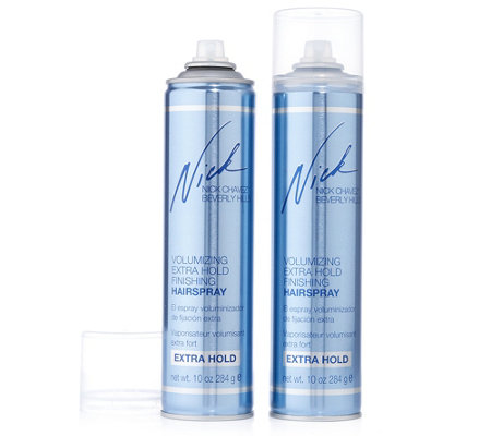 NICK CHAVEZ Volumizing Extra Hold Haarspray Duo je 330ml