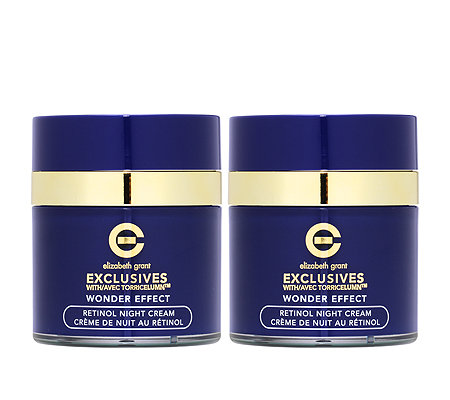 ELIZABETH GRANT WONDER EFFECT Retinol Night Cream 2x 50ml