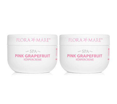 FLORA MARE Spa Grapefruit Körpercreme 2x 200ml