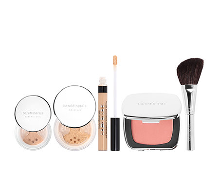 bareMinerals® Foundation, BB 5 in 1 Mineral Veil inkl. Pinsel 5-tlg.