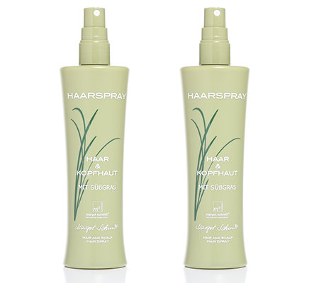 MARGOT SCHMITT Sensitiv Haarspray-Duo mit Süßgras je 200ml