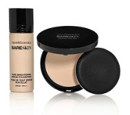 bareMinerals® bareSkin Pure Brightening Serum Foundation & Perfecting Veil