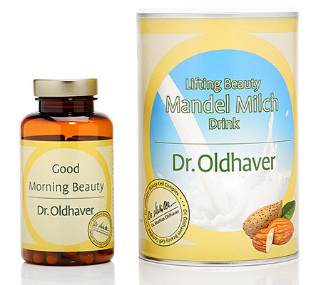 DR. OLDHAVER Mandel Beauty Shake & Good Morning Beauty Kapseln