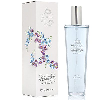 WOODS of WINDSOR Blaue Orchidee & Seerose Eau de Toilette 100ml