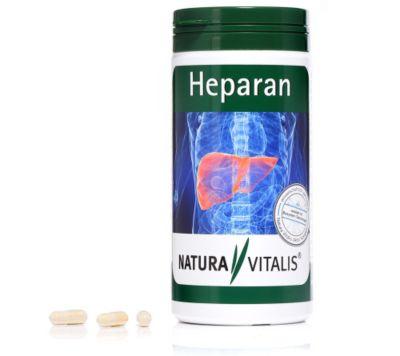 NATURA VITALIS Heparan für die Leber 360 Kapseln für 180 Tage