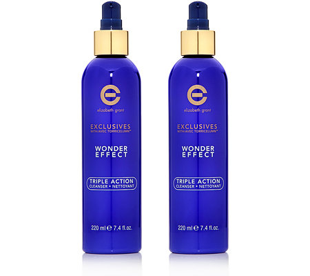 ELIZABETH GRANT WONDER EFFECT Triple Action Cleanser Duo 2x 220ml