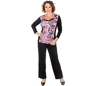 Pyjama Animaldruck