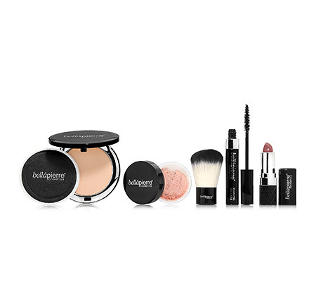 bellápierre® Cosmetics Make-up Set inkl. Foundation inkl. Pinsel