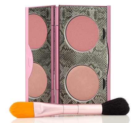 MALLY BEAUTY 24/7 Illuminating Blush, Rouge-Set inkl. Pinsel 2-tlg.