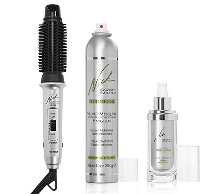 NICK CHAVEZ Nick's Easy Styling-System 3in1 Styler inkl. Serum & Haarspray