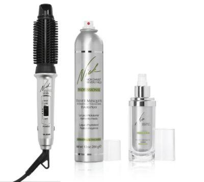 NICK CHAVEZ Nick's Easy Styling-System 3in1-Styler inkl. Serum & Haarspray