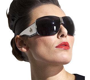 Sonnenbrille Strass