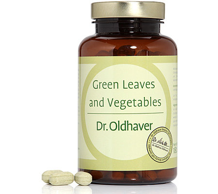 DR. OLDHAVER Green Leaves & Vegetables Moringa Extrakt 180 Presslinge
