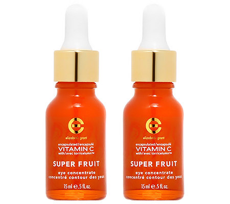 ELIZABETH GRANT VITAMIN C Super Fruit Eye Concentrate Duo, 2x 15ml