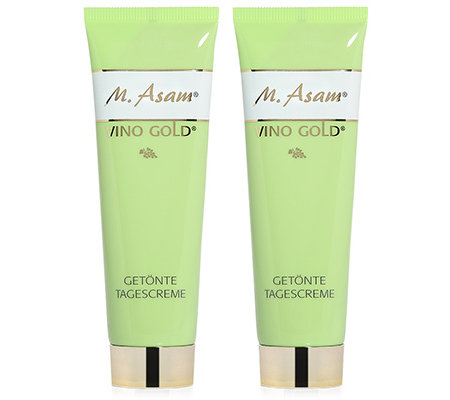 M.ASAM VINO GOLD getönte Tagescreme 2x 50ml