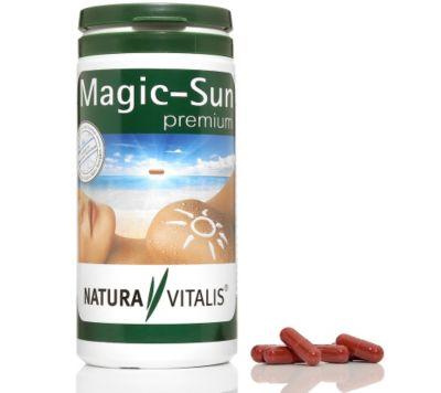 NATURA VITALIS Magic Sun premium verbesserte Rezeptur 300 Kapseln für 5 Monate