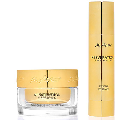 M.ASAM RESVERATROL Premium 24h Creme 100ml & Essenz 100ml