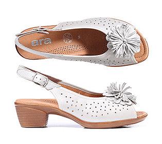 Sling-Sandalette Leder