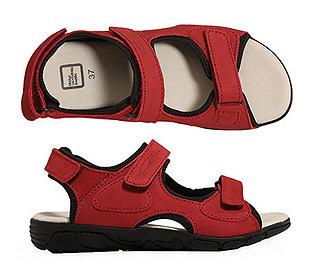 Damen-Sandale Leder