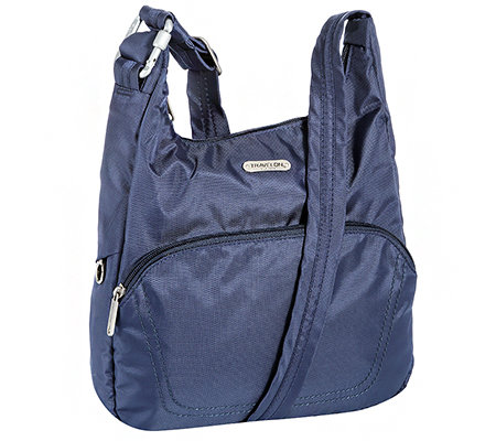 TRAVELON Handtasche Anti-Theft Nylon Stepp-Details