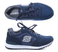SKECHERS Herrensneaker OG 85 Early Grab Materialmix Memory Foam
