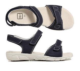 Damen-Sandalette Leder