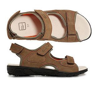 Damen-Sandale Nubuk