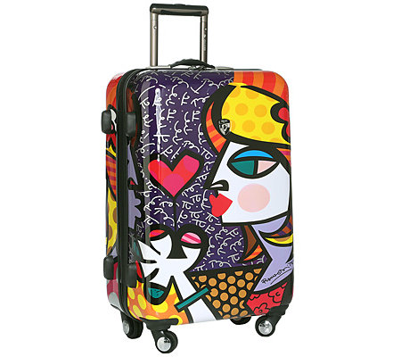 HEYS USA Britto Collection Trolley, 4 Rollen Polycarbonat ca. 46x66x27cm