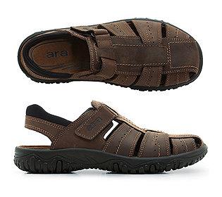 Herren-Sandale Leder