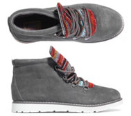 SKECHERS Damenstiefelette Bobs Alpine Materialmix Plush Foam