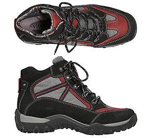 Trekking-Stiefel Leder