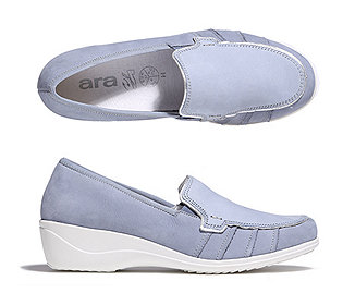 Damen-Slipper Leder