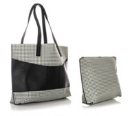 CAMOMILLA MILANO 2tlg. Set Medium-Shopper Universaltasche Lederimitat