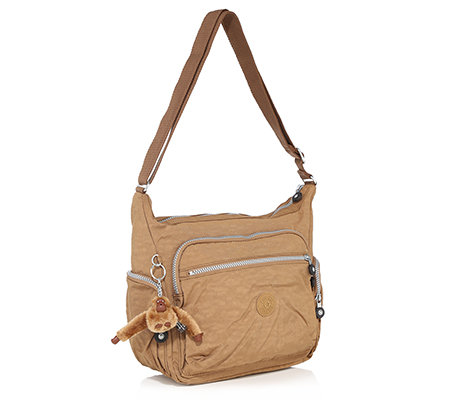 KIPLING® Medium-Shopper Gabbie sw 100% Nylon 4 Außenfächer