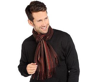 Herren-Schal Wollmischung