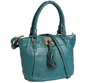 Handtasche Flechthenkel