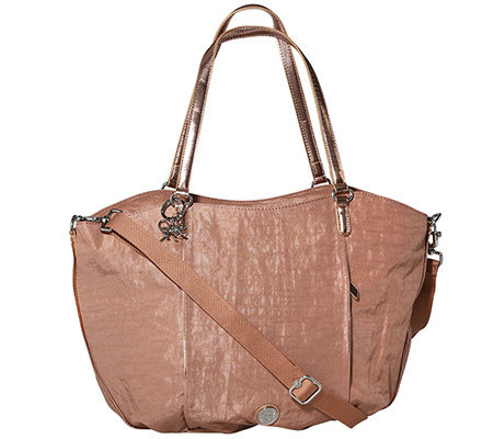 KIPLING XL Shopper Gwendolyn 100% Nylon Paspelierung