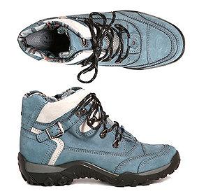 Trekking-Schuh Leder